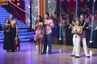 The three finalist on 'Dancing with the Stars: All-Stars,' Nov. 26, 2012 -- ABC