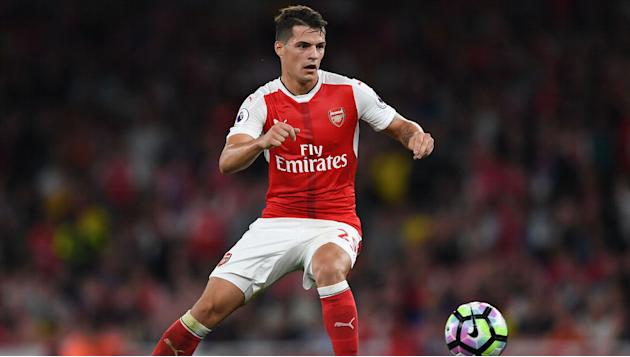 Granit Xhaka Names the Player Who Has Impressed Him the Most as a Role Model at Arsenal
