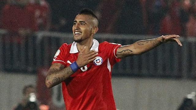 World Cup - Surgery done, upbeat Vidal says he can make it to World Cup