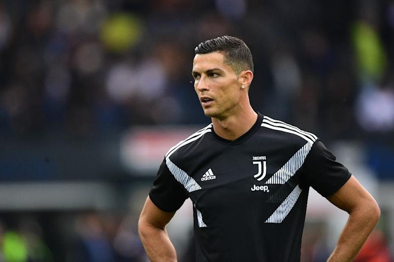 """""""He isn't easy to replace,"""" said Juve's sporting director of Cristiano Ronaldo. (AFP Photo/Miguel MEDINA)"""