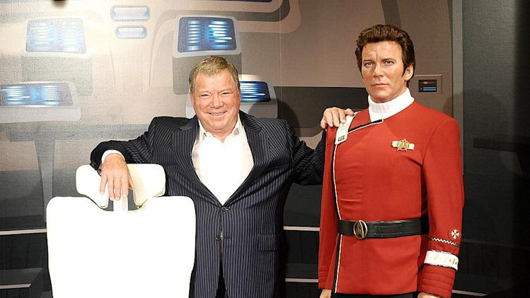 Shatner William Wax Figure