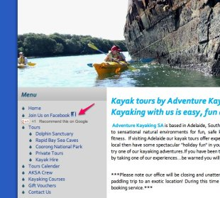 Grow Your Tour or Activity Business Fan Base With Facebook Contests image adventure kayak sa1