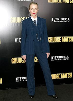 Kim Basinger Sexy at 60: Star Stuns in Suit at Grudge Match Premiere in NYC: Picture