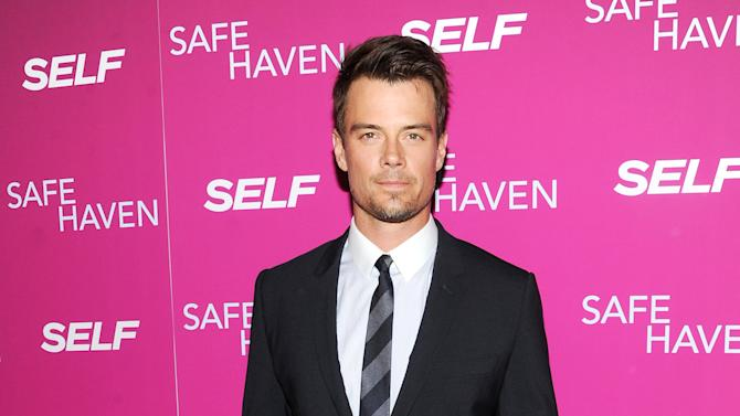"FILE - In this Feb. 11, 2013 file photo, actor Josh Duhamel attends the premiere of ""Safe Haven"" at the Sunshine Landmark in New York. The ""Transformers"" star is hosting Nickelodeon's Kids' Choice Awards on Saturday, March 23, 2013, and says the ceremony's traditional dumping of the green stuff on celebrities isn't as bad as it looks. (Photo by Evan Agostini/Invision/AP, File)"