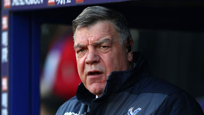 Sam Allardyce admits Crystal Palace will miss out on primary January transfer targets