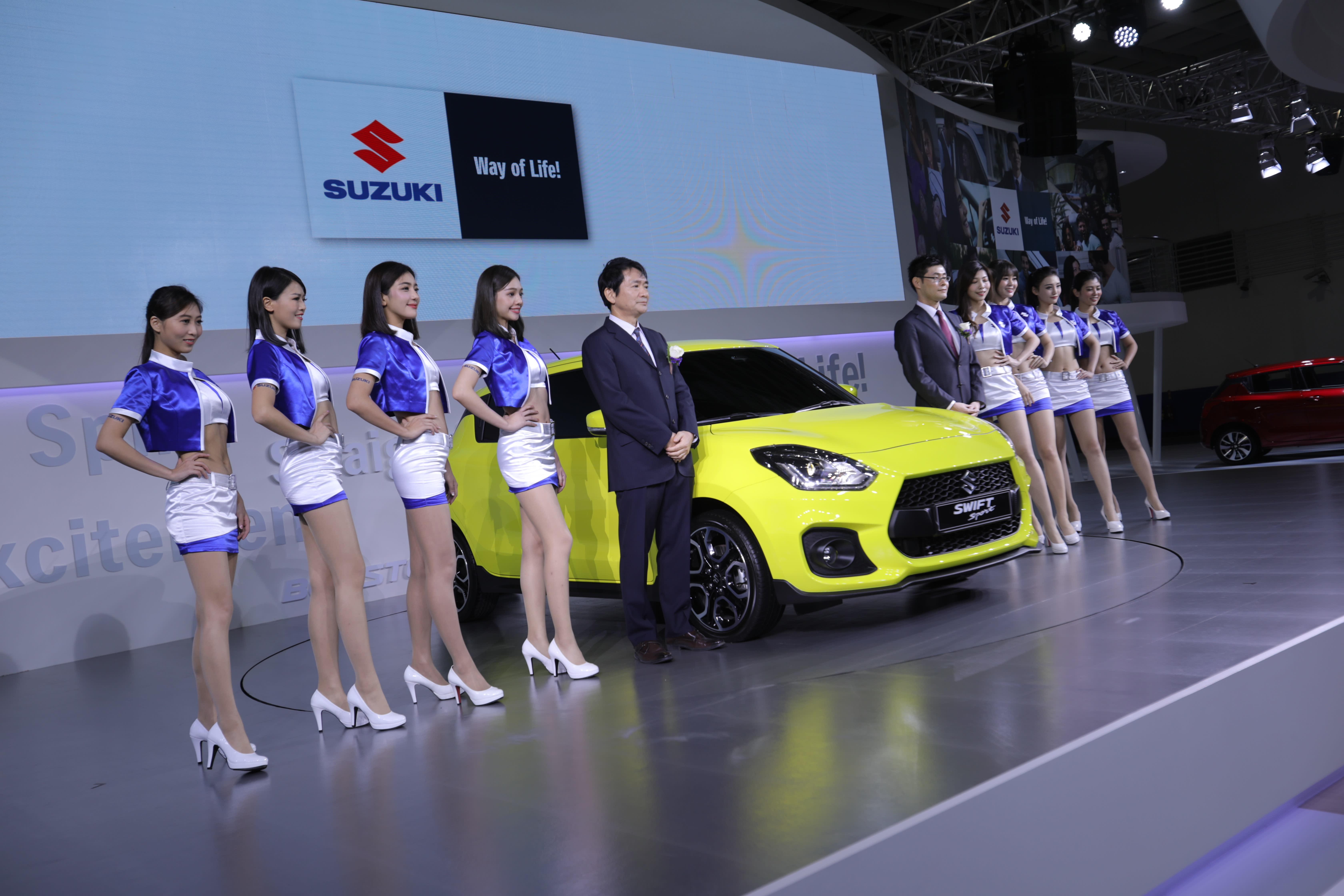 SUZUKI - 2018 世界新車大展 | 特別報導