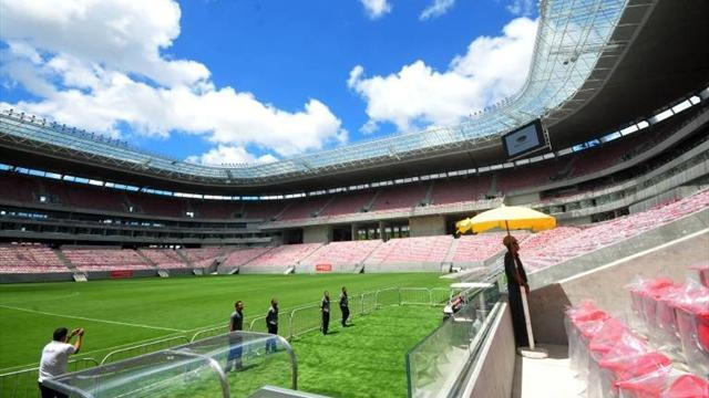 World Cup - Brazil's stadiums ready for World Cup warm-up