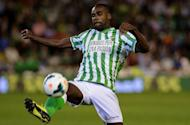 Betis' Brazilian defender Paulao is seen at the Benito Villamarin stadium in Sevilla on September 29, 2013