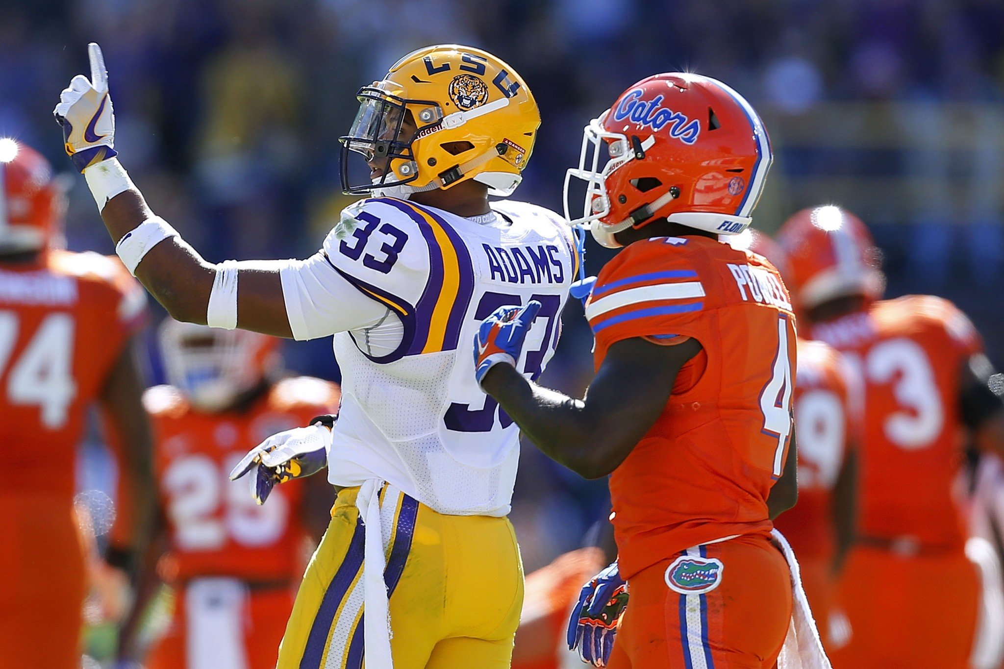 LSU S Jamal Adams could be a top-five pick. (Getty)