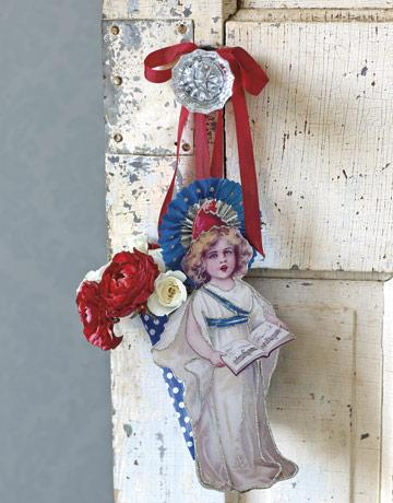 Lady Liberty Door Hanger