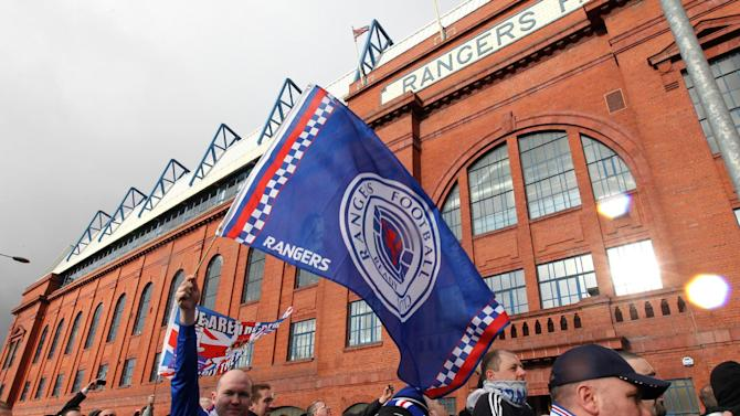 Rangers supporters hit out over refusal to allow newco club into SPL