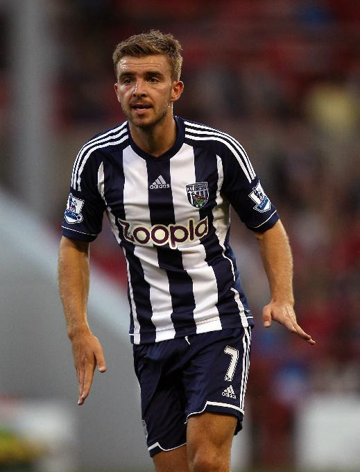 West Brom midfielder James Morrison has committed his future to the club