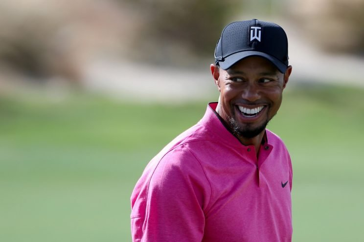 Tiger Woods is starting his comeback this week. (Getty Images)