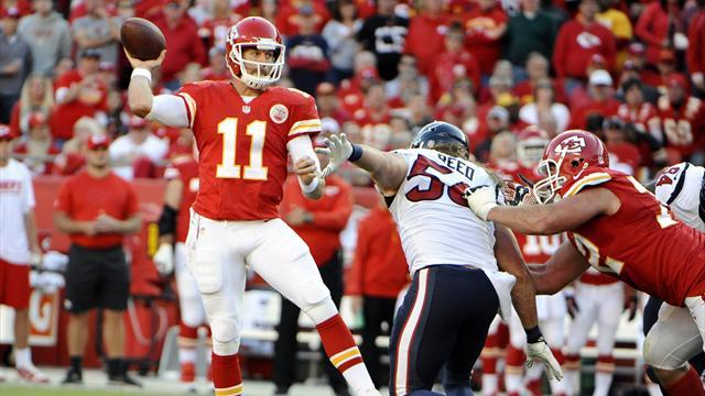 American Football - Chiefs look to extend Cinderella season in battle with Colts