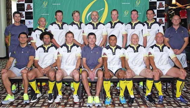 Joost van der Westhuizen's J9 World Legends bidding for victory at Dubai Rugby 7's
