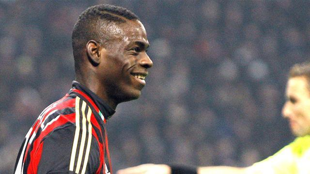 Serie A - Crespo: Balotelli 'missing something in his head a little bit'