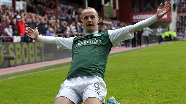 Scottish Football - Wolves reject Hibs' Griffiths bid