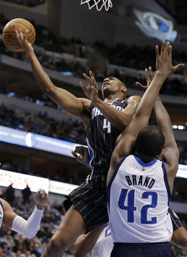Balanced scoring carries Mavs past Magic, 111-96