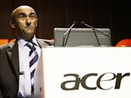 Taiwan's leading personal computer maker Acer said on Wednesday it has filed a lawsuit against former chief executive Gianfranco Lanci (pictured in 2007) after he joined Chinese rival Lenovo. Lanci, an Italian who became chief executive in 2008, resigned last April as Acer's 2011 first-quarter profit hit a six-year low, largely knocked by brisk demand for Apple's iPad