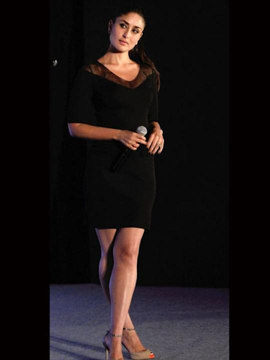 Images via : iDiva.comKareena Kapoor poses pretty in a classic LBD. The nude pumps go well with the dress.Related Articles - Vote: Shilpa Shetty Vs Sridevi in One-Shoulder Dresses5 Ways to Jazz Up an