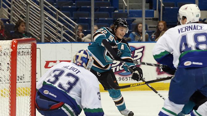 Worcester Sharks v Connecticut Whale