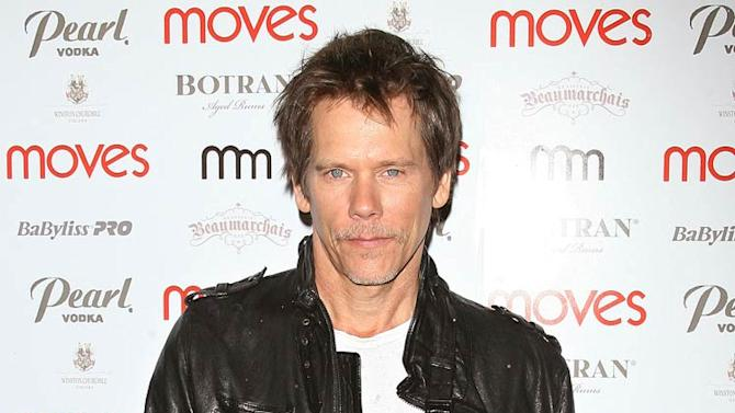 Kevin Bacon Moves Magazine Prty