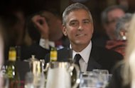 Film star George Clooney attends the White House Correspondents Association Dinner in Washington in April. Clooney is expected Monday in Geneva at a fundraiser for US President Barack Obama's re-election campaign, Democrats Abroad says