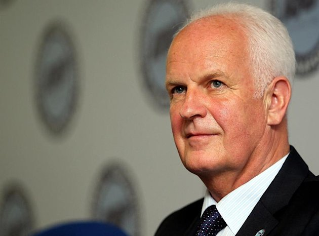 Singaporean football national team coach Bernd Stange from Germany is facing calls for his dismissal after a 3-1 loss to bitter rivals Malaysia saw the defending champions knocked out of the AFF Suzuki Cup