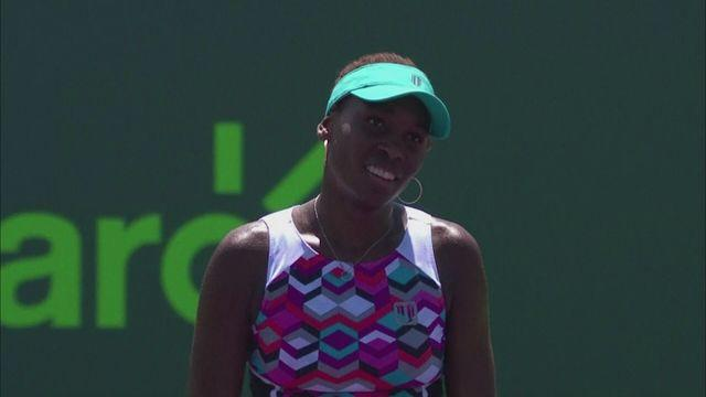 Venus's Miami form continues against Wozniacki