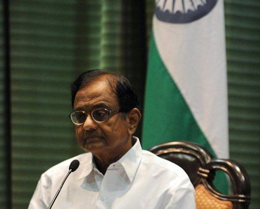 "India Finance Minister P. Chidambaram in New Delhi on October 9, 2012. India's government is to roll out Tuesday the first phase of its hugely ambitious plans to hand out cash to welfare claimants in what it considers a ""game-changer"" policy 18 months ahead of elections."