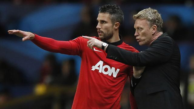 Premier League - Van Persie out of derby and Bayern tie with sprained knee