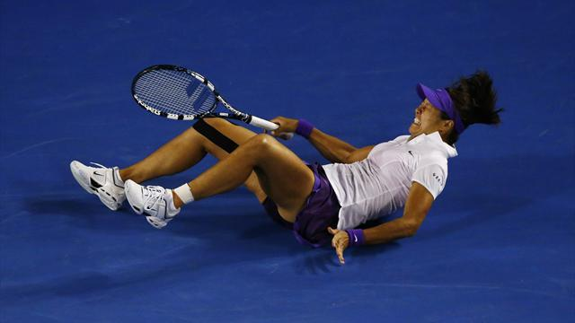 Tennis - Li hopeful of quick return despite sore ankle