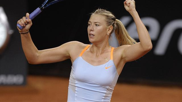 Tennis - Sharapova downs Ivanovic in another Stuttgart epic