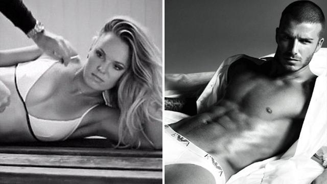 All Sports - Top 10 sports stars who STRIPPED to their undies for ads