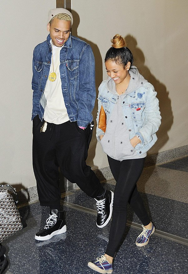 Karrueche Tran Publicly Supports Chris Brown After Fight With Drake