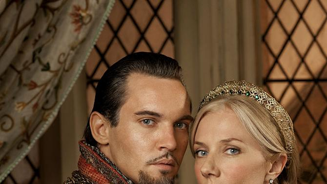 """Jonathan Rhys Meyers as Henry VIII and Joely Richardson as Catherine Parr in """"The Tudors."""""""