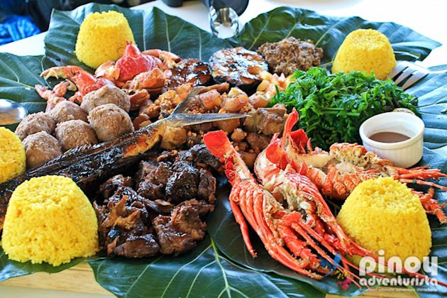 The Ivatan Platter Pension Ivatan Restaurant Basco, Batanes, Philippines