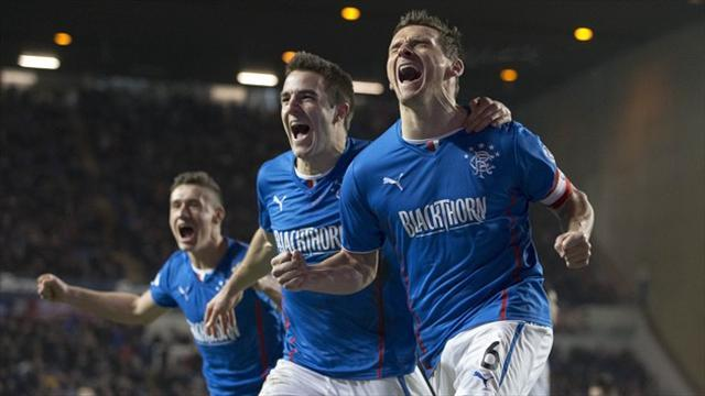 Scottish Football - Rangers secure Scottish League One crown