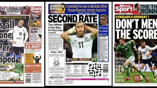 International friendlies - Paper Round: England improve, Germany still far better