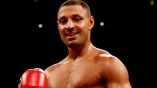Boxing - Kell Brook stops Jo Jo Dan to defend world title