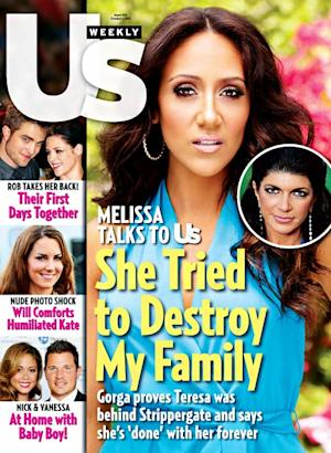 "Real Housewives of New Jersey's Melissa Gorga on Teresa Giudice: ""I'm Officially Done"""