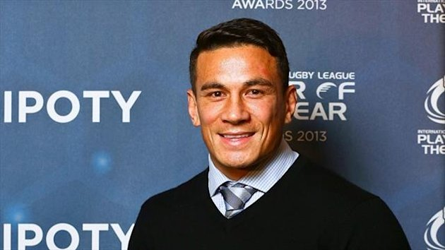 "Sonny Bill Williams has ""found peace of mind, in myself as a man""."