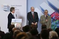 Lord Browne of Madingley, Robert Kahn and Louis Pouzin, March 18th, 2013, Queen Elizabeth Prize for Engineering