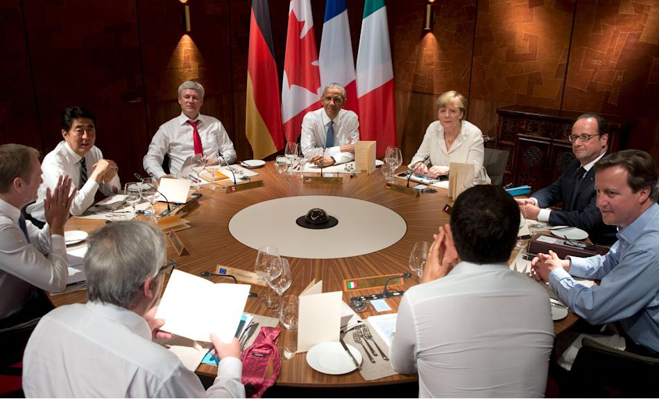 Working dinner of the G7 Summit in Germany
