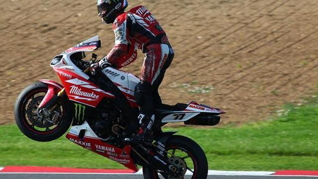 Superbikes - Brands BSB: Ellison makes up for earlier crash with a podium