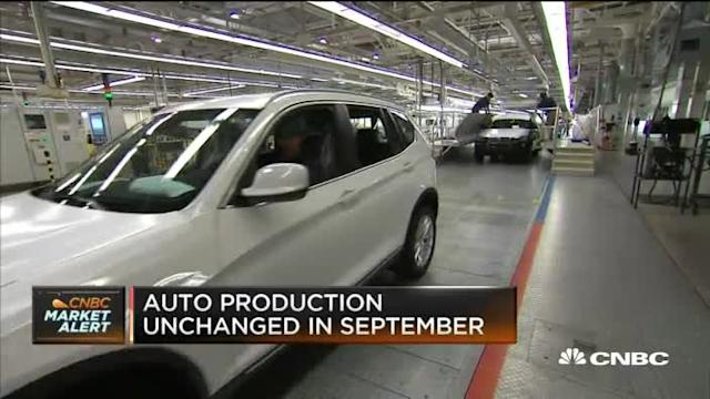 Automakers expect strong Q4 sales