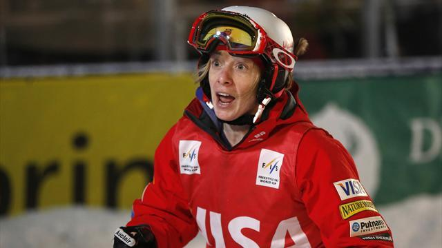 Sochi 2014 - Champion Kearney heads moguls qualifiers