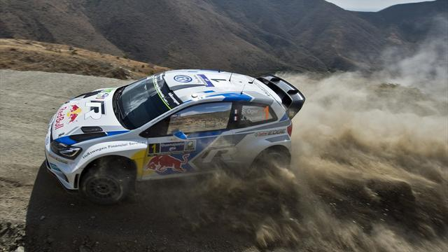 Mexico Rally - Ogier leads VW one-two in Mexico