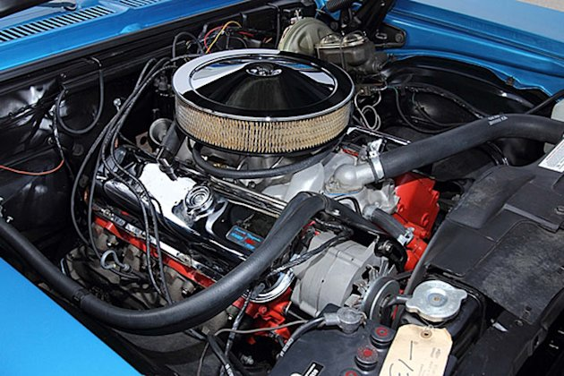 1969 yenko chevrolet nova engine photo