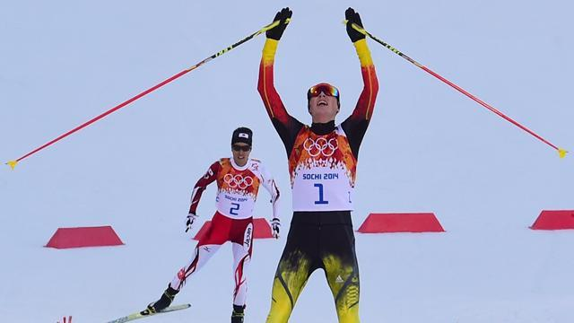 Nordic Combined - Frenzel leaps to victory in normal hill event